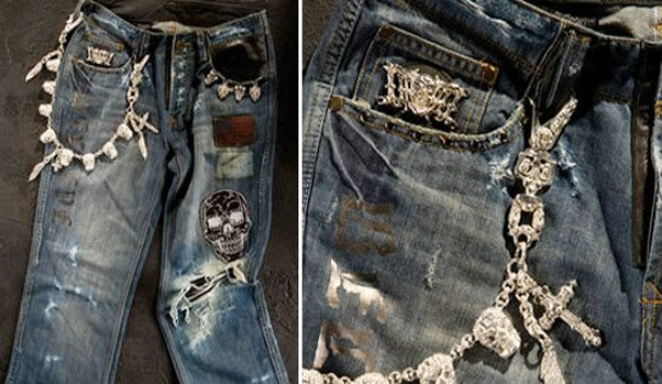 Dussault Apparel's Thrashed Denim Line