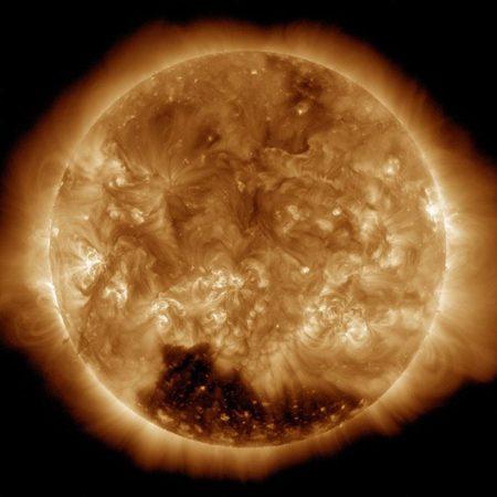 Перепады температуры Солнца