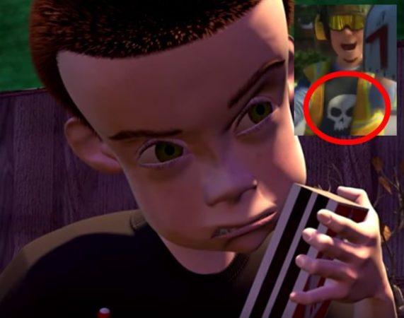 Сид — мусорщик из «Истории игрушек 3»