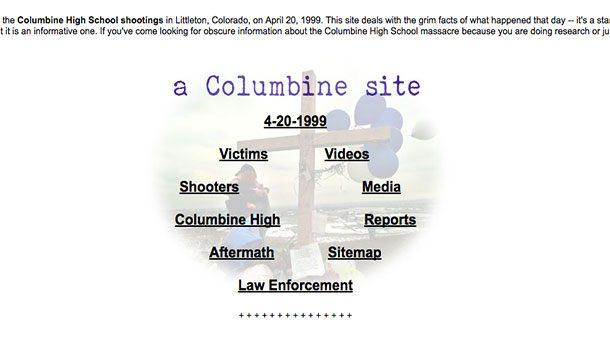 Сайт Колумбины (a Columbine Site)