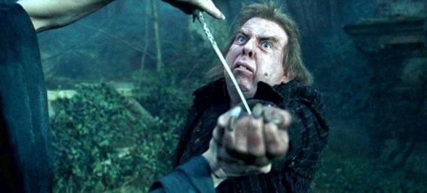 Волан-де-Морт вызывает Пожирателей Смерти через Питера