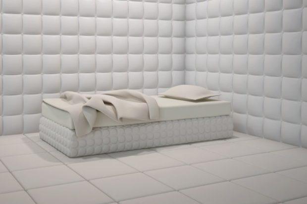 Комната в психиатрической лечебнице
