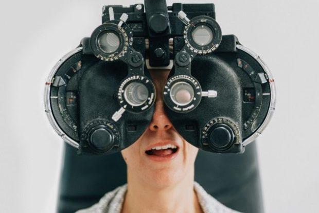 Аппарат для проверки зрения
