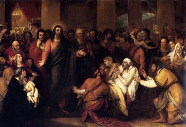 Христос исцеляет больных
