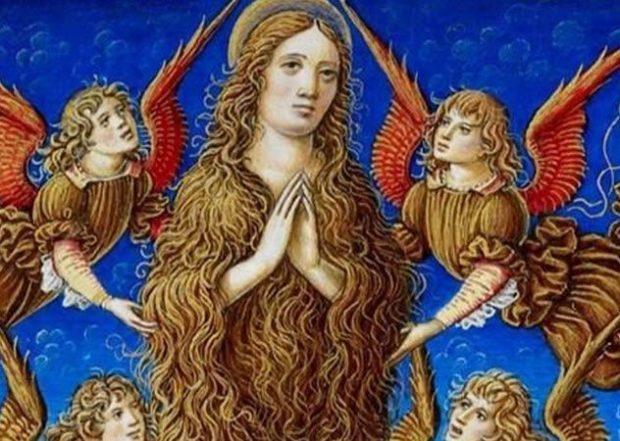 Мария Магдалена и ангелы