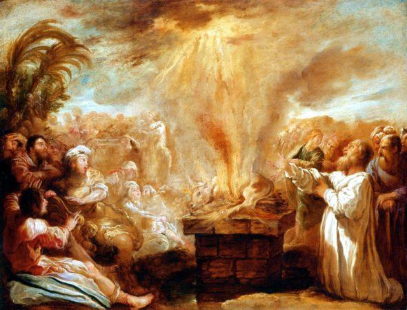 Триумф Илии над пророками Ваала