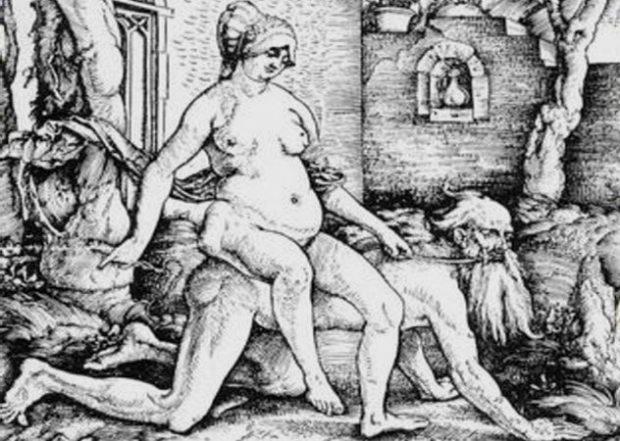 Женщина верхом на Аристотеле