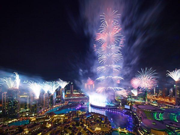 Дубай на Новый год