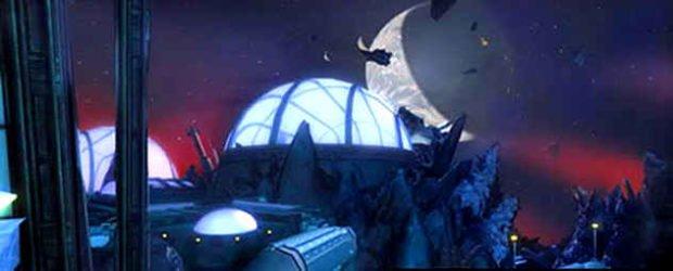 Космическая станция из игры Entropia