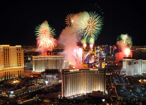 Лас-Вегас на Новый год
