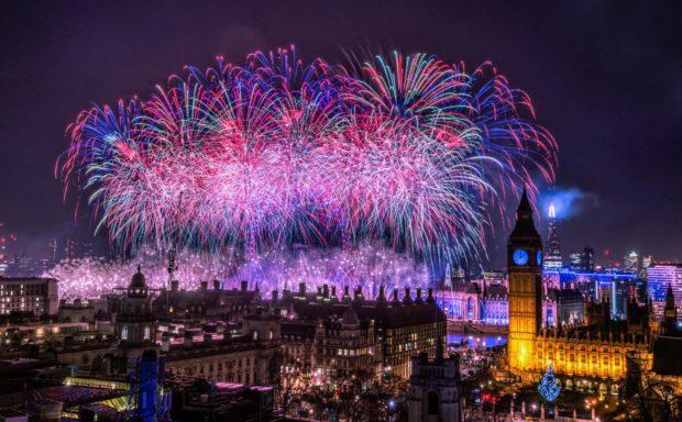 Лондон на Новый год