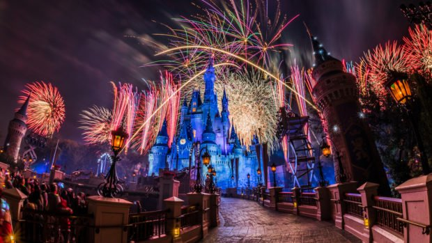 Всемирный центр отдыха Уолта Диснея на Новый год