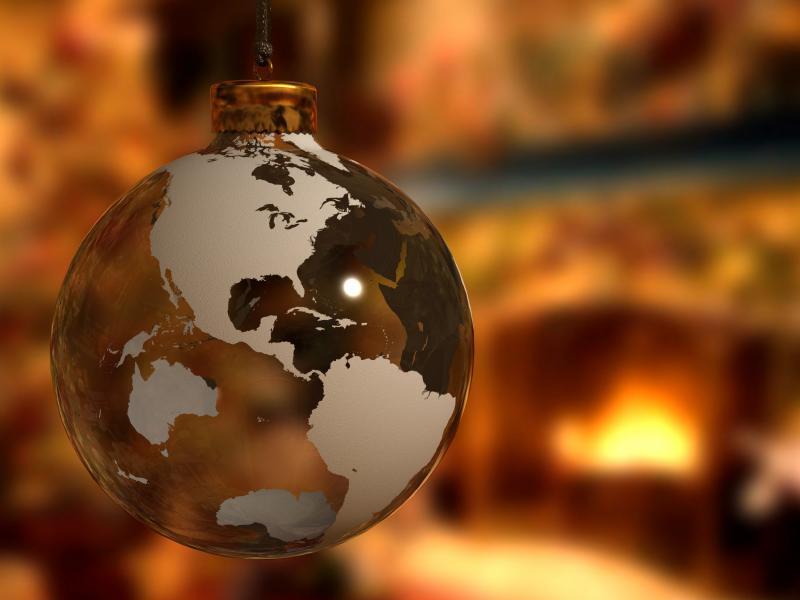 Новый год на планете Земля