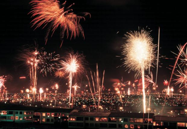 Новый Орлеан на Новый год