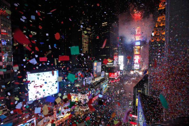 Нью-Йорк на Новый год