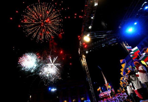 Осло на Новый год