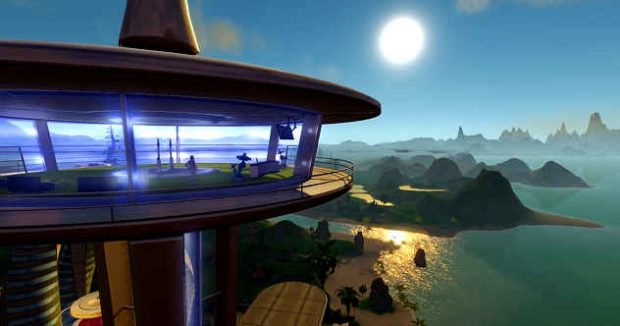 Планета Калипсо в игре Entropia