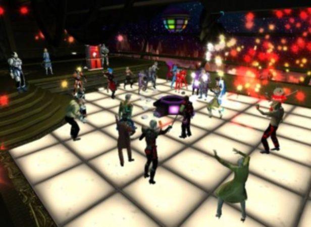 Виртуальный клуб в игре Entropia