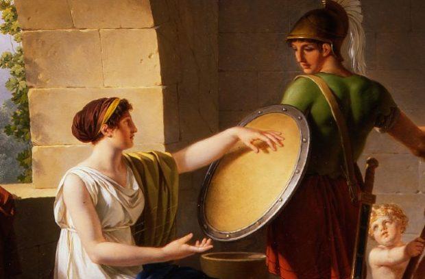 Изображение женщин из Спарты