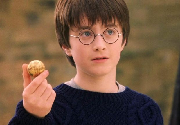 Молодой Гарри Поттер