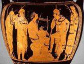 На древних вазах и фресках часто можно видеть обнажённых людей