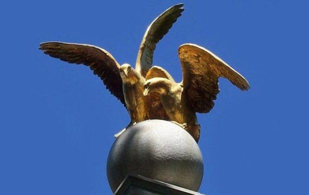 Памятник чайке