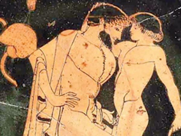 Древнегреческая фреска