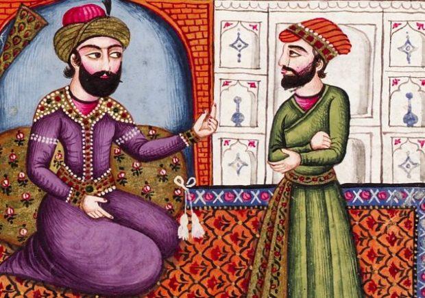 Изображение персидских мужчин