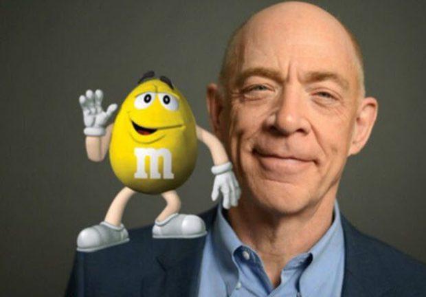 Жёлтый M&M's