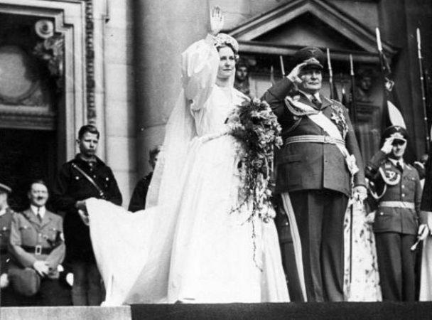 Свадебное фото Эмми Геринг