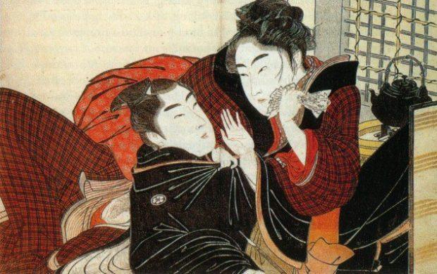 Изображение двух японцев