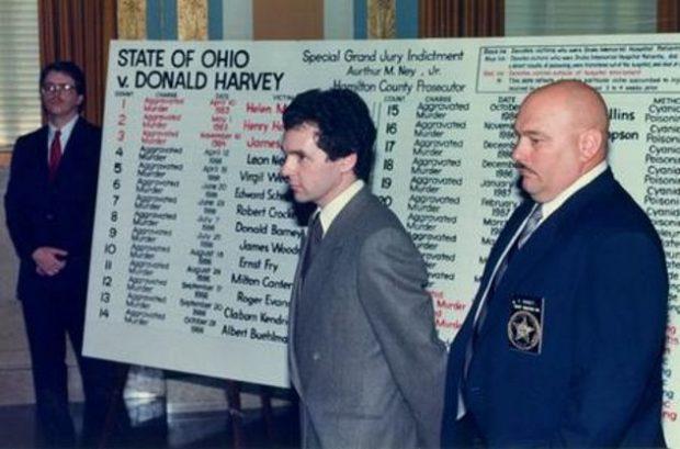 Дональд Харви в суде