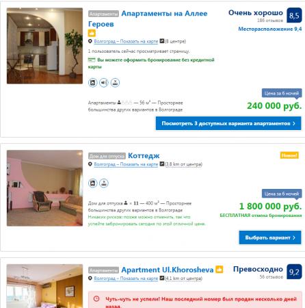 цены на жилье во время чм
