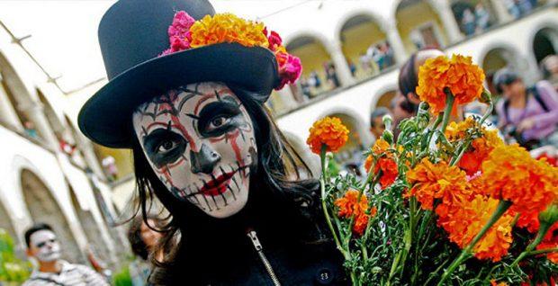 главный персонаж мексиканского карнавала Катрин
