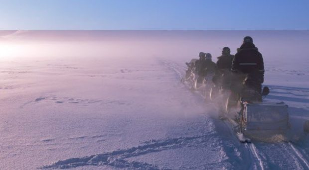 Люди на Северном полюсе