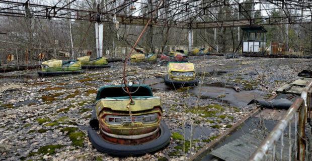 машинки в чернобыле