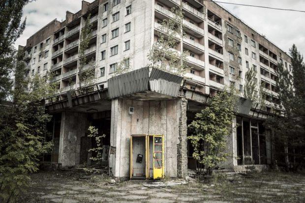 дом в чернобыле