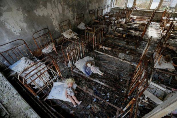 детский сад чернобыль