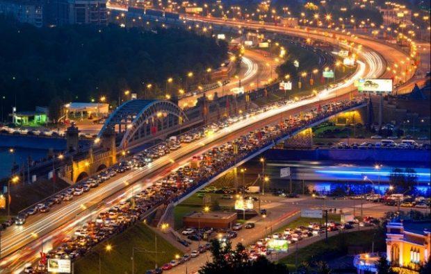 Бережковский мост в Москве