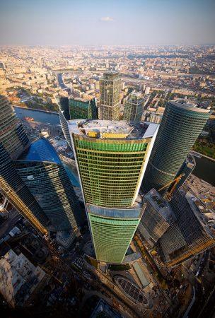 Башня «Евразия» Московского международного делового центра «Москва-Сити»