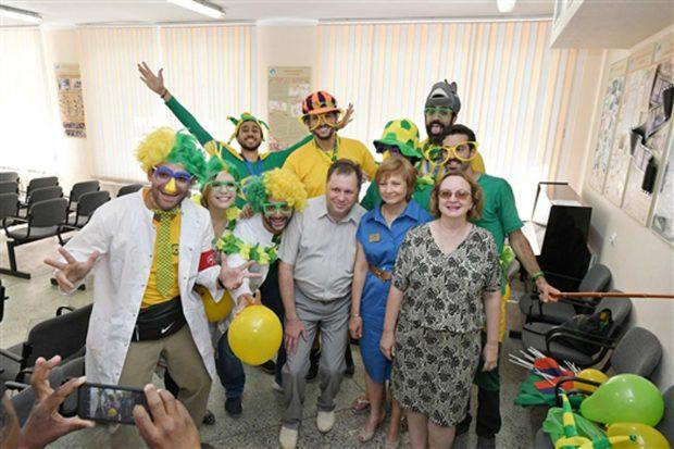 Болельщики из Бразилии и самарские пациенты