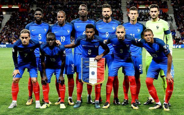 франция сборная чм 2018