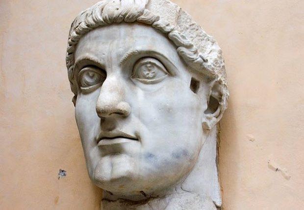 Лицо Константина I