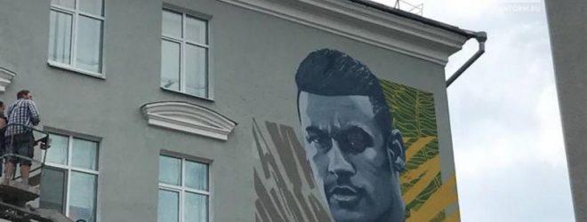 Портрет Неймара Да Силва Сантос Жуниора в Казани