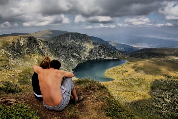 Секс на вершине горы