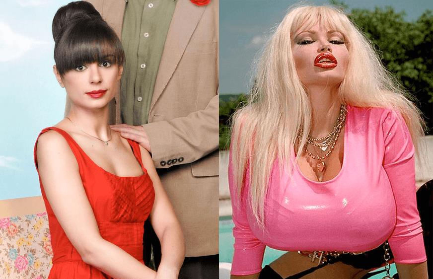 Порно звезда с большим бюстом итальянка