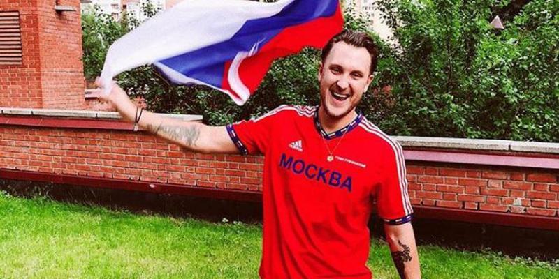 Рэпер T-killah - фанат Сборной России