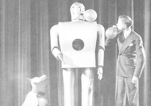 Робот-курильщик