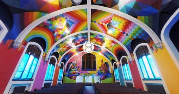 Церковь каннабиса изнутри