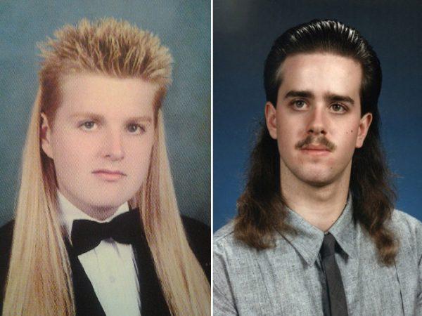 Два юноши с нелепыми причёсками